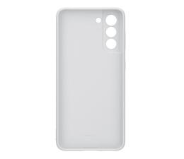 Etui / obudowa na smartfona Samsung Silicone Cover do Galaxy S21 Light Gray