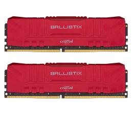 Pamięć RAM DDR4 Crucial 32GB (2x16GB) 3000MHz CL15 Ballistix Red