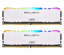 Pamięć RAM DDR4 Crucial 16GB (2x8GB) 3200MHz CL16 Ballistix White RGB