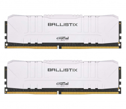 Pamięć RAM DDR4 Crucial 16GB (2x8GB) 3000MHz CL15 Ballistix White