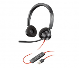 Słuchawki biurowe, callcenter Plantronics Blackwire 3320-M USB-A