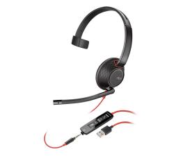 Słuchawki biurowe, callcenter Plantronics Blackwire C5210 USB-A + jack 3,5