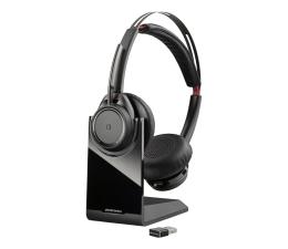 Słuchawki biurowe, callcenter Plantronics Voyager FOCUS UC z bazą, USB-A