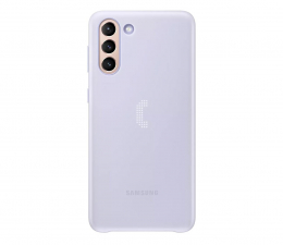 Etui / obudowa na smartfona Samsung LED Cover do Galaxy S21+ Violet