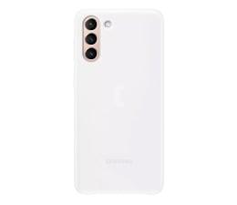 Etui / obudowa na smartfona Samsung LED Cover do Galaxy S21+ White