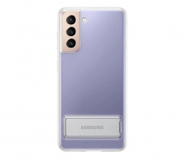 Etui / obudowa na smartfona Samsung Clear Standing Cover do Galaxy S21