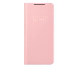 Etui / obudowa na smartfona Samsung LED View Cover do Galaxy S21+ Pink