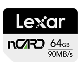 Karta pamięci nanoSD Lexar 64GB nCARD NM for Huawei® phones 90MB/s