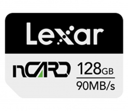 Karta pamięci nanoSD Lexar 128GB nCARD NM for Huawei® phones 90MB/s