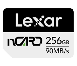 Karta pamięci nanoSD Lexar 256GB nCARD NM for Huawei® phones 90MB/s