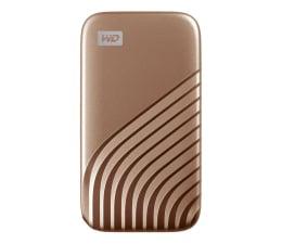 Dysk zewnętrzny SSD WD My Passport SSD 2TB USB-C Złoty