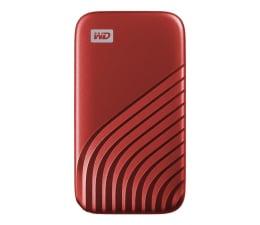 Dysk zewnętrzny SSD WD My Passport SSD 2TB USB-C Czerwony