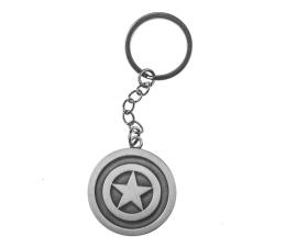 """Brelok z gier CENEGA Brelok Marvel Comics """"Captain America Shield"""""""