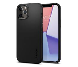 Etui / obudowa na smartfona Spigen Thin Fit do iPhone 12/12 Pro black