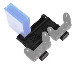 Uchwyt/podstawka do konsoli FroggieX PS4 Podstawka chłodząca i stacja dokująca