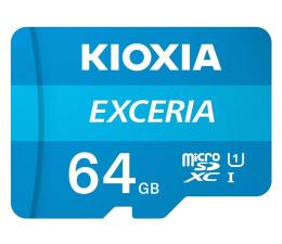 Karta pamięci microSD KIOXIA 64GB microSDXC Exceria 100MB/s C10 UHS-I U1