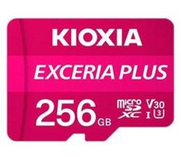 Karta pamięci microSD KIOXIA 256GB microSDXC Exceria Plus 100MB/s UHS-I U3 V30