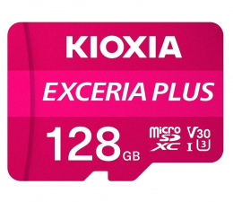 Karta pamięci microSD KIOXIA 128GB microSDXC Exceria Plus 100MB/s UHS-I U3 V30