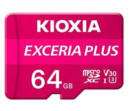 Karta pamięci microSD KIOXIA 64GB microSDXC Exceria Plus 100MB/s UHS-I U3 V30