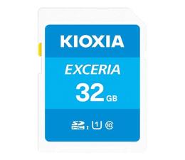 Karta pamięci SD KIOXIA 32GB SDHC Exceria 100MB/s C10 UHS-I U1