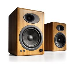 Kolumny stereo Audioengine A5+ Bambusowe para