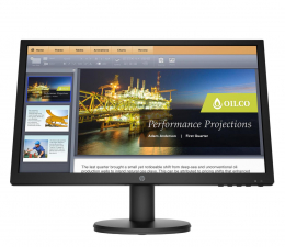"Monitor LED 21"" i mniejszy HP P21b G4"