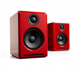 Kolumny stereo Audioengine A2+ BT Czerwone para