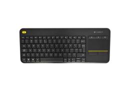 Klawiatura bezprzewodowa Logitech Wireless Touch K400 Plus czarna