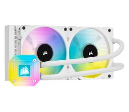 Chłodzenie procesora Corsair iCUE H100i ELITE CAPELLIX White 2x120mm