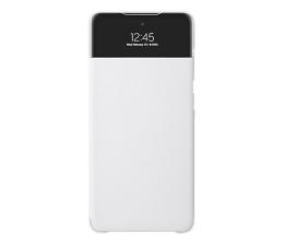 Etui / obudowa na smartfona Samsung S View Wallet Cover do Galaxy A72 biały