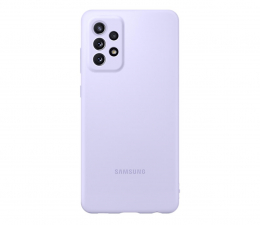Etui / obudowa na smartfona Samsung Silicone Cover do Galaxy A72 Violet