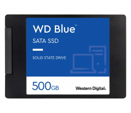 "Dysk SSD WD 500GB 2,5"" SATA SSD Blue"
