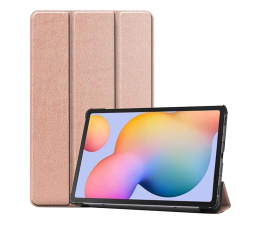 Etui na tablet Tech-Protect SmartCase do Galaxy Tab S6 Lite rose gold