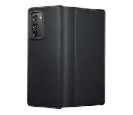 Etui / obudowa na smartfona Samsung Leather Cover do Galaxy Fold 2 czarny