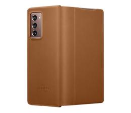 Etui / obudowa na smartfona Samsung Leather Cover do Galaxy Fold2 brązowy