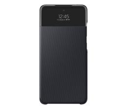 Etui / obudowa na smartfona Samsung S View Wallet Cover do Galaxy A52 czarny
