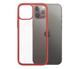 Etui / obudowa na smartfona PanzerGlass ClearCase do iPhone 12 Pro Max Mandarin Red