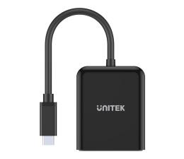 Przejściówka Unitek Adapter USB-C - 2x HDMI 2.0a 4K/60Hz