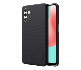 Etui / obudowa na smartfona Nillkin Super Frosted Shield do Galaxy A32 5G czarny