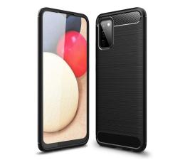 Etui / obudowa na smartfona Tech-Protect TPUcarbon do Samsung Galaxy A02s czarny