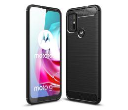 Etui / obudowa na smartfona Tech-Protect TPUcarbon do Motorola Moto G30/G10 czarny