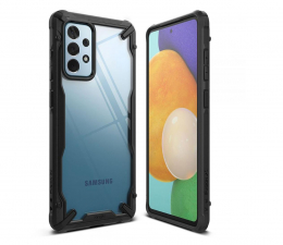 Etui / obudowa na smartfona Ringke Fusion X do Samsung Galaxy A52 czarny