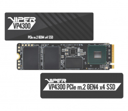 Dysk SSD Patriot 1TB M.2 PCIe Gen4 NVMe Viper VP4300