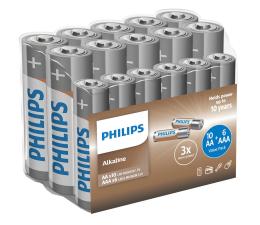 Bateria Philips Entry Alkaline 10x AA + 6x AAA