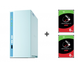Dysk sieciowy NAS / macierz QNAP TS-230 12TB (2xHDD, 4x1.4GHz, 2GB, 3xUSB, 1xLAN)
