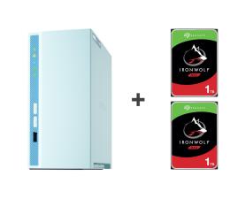 Dysk sieciowy NAS / macierz QNAP TS-230 2TB (2xHDD, 4x1.4GHz, 2GB, 3xUSB, 1xLAN)