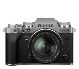 Bezlusterkowiec Fujifilm X-T4 + 18-55mm srebrny