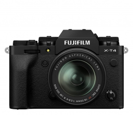 Bezlusterkowiec Fujifilm X-T4 + 18-55mm czarny