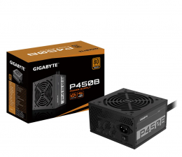 Zasilacz do komputera Gigabyte P450B 450W 80 Plus Bronze