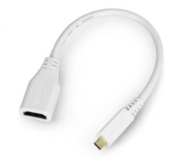 Przejściówka Raspberry Pi Adapter microHDMI - HDMI oryginalny do RPi 4B